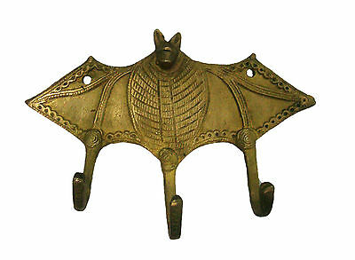 An attractive BAT Designed BRASS MADE COAT HOOK (Very Beautiful) from INDIA