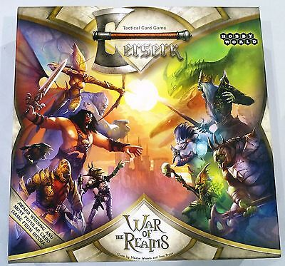 Berserk - War of the Realms Tactical Card Game - Hobby World / Asmodee - 2013