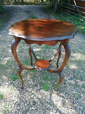Antique Edwardian Rosewood Occasional Centre Table Circa 1900-10