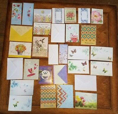 Mixed Lot of 16 Greeting Cards w. Envelopes UNUSED