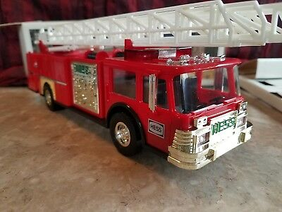 1986 Hess Toy Fire Truck Bank, Excellent Condition, Collectible