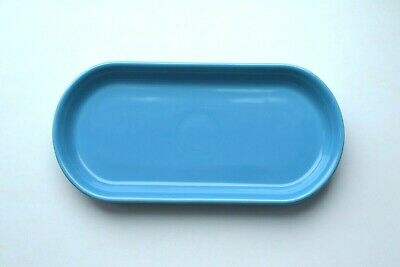 SMALL BREAD TRAY in PEACOCK ~ 1st Quality NWT ~ Contemporary Fiesta Ware