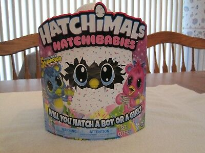 "Hatchimals Hatchibabies Boy Or Girl ""Cheetree""---New"
