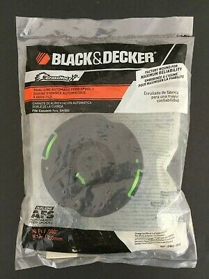 DUAL LINE Trimmer Spool for Black & Decker DF-080-BKP 6-Pack