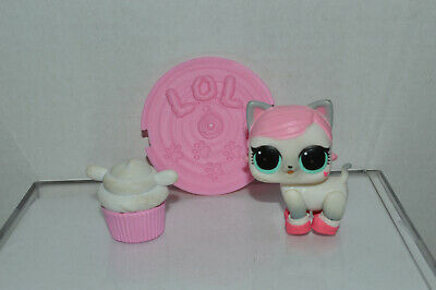 MGA~LOL Surprise~Series 3~Kitty Cat~White Gray~Blue Eyes~Pink Hair~4 Shoes~Moves