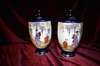 Pair of early 20th Century Oriental Vases
