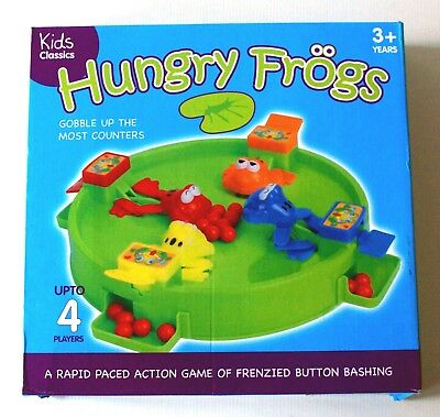 HUNGRY FROGS by KIDS CLASSICS - A FEEDING FRENZY FOR THE FAMISHED FROGS!