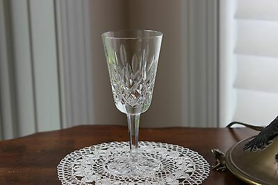 """Waterford Lismore Crystal SHERRY GLASS 5 1/8"""""""