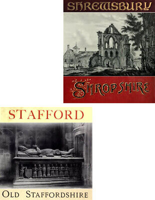 570 PDFs Shropshire & Staffordshire History Registers Kelly's Directories