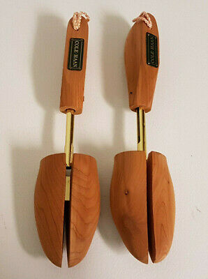"Cole Haan Cedar Pair Shoe Tree Stretchers Size Large 11"" Length. Nice Condition"