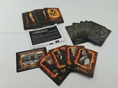 Hunger Games Jabberjay Card Game ~USED~ No Box ~ Complete