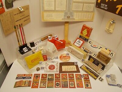 Vintage Lot of Mostly Advertising Promos, Premiums & Give-A-Ways from 1950s-60s