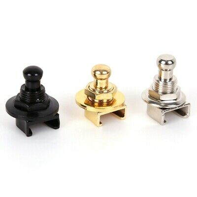 2 PC Guitar Strap Locks Round Head Buttons For Fender Parts Guitar High Quality