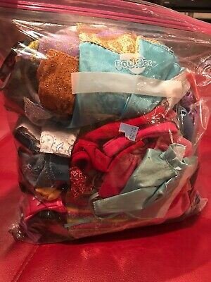 Hug Lot Bag Full Of Barbie Fashions Chic Pack Bratz Doll clothes outfits AA103