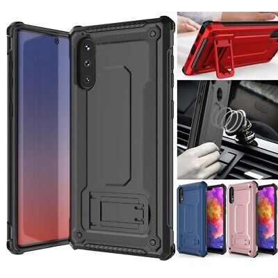 Shockproof Hybrid Armor Case Rugged Cover with Kickstand  For LG G6 G7 Stylo 4
