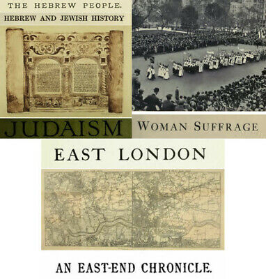 425 PDFs Jewish Judaism Hebrew & East London History Suffragettes Commonweal