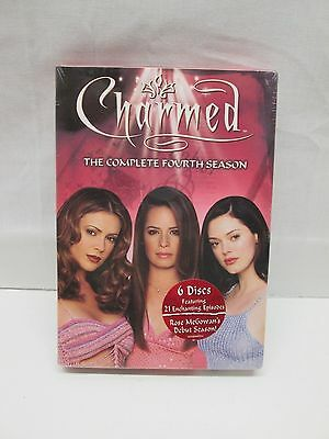 Charmed ~ The Complete Fourth 4 Season 6-Disc DVD Set 2006 NEW SEALED