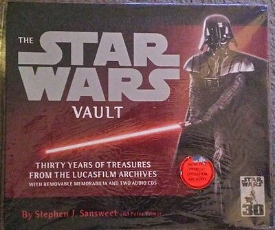 Star Wars Vault 30 Years Of Treasures From The Lucas Archives - Brand New Sealed