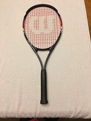 Wilson Fusion XL Tactical Alloy Oversize Tennis Racket - 4 3/8