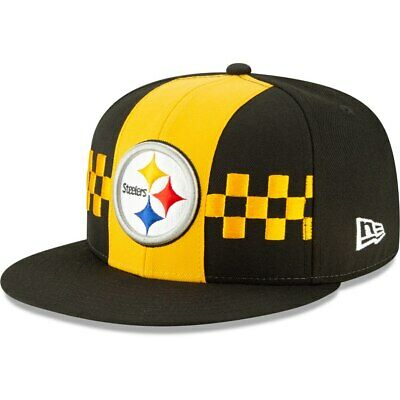 Pittsburgh Steelers New Era 2019 NFL Draft On-Stage Fitted 5950 Hat-Black/Yellow