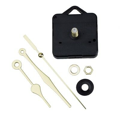 Quartz Clock Movement Mechanism Gold Hands DIY Repair Parts Kit B5U1