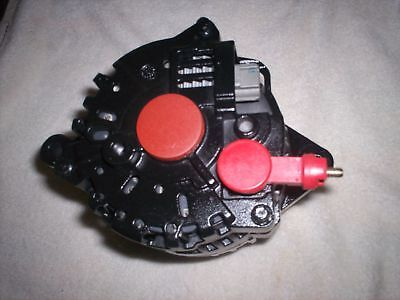 2001 2002 2003 2004 Ford Mustang BLACK PAINTED Alternator 3.8L V6 130 HIGH AMP