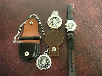 Hong Kong police memorabillia watches