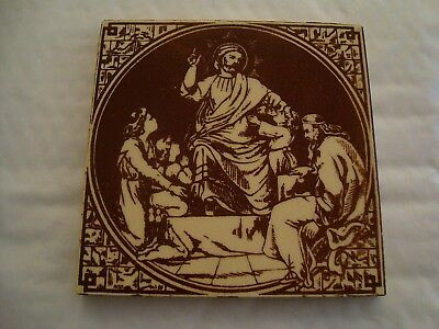 Minton Hollins & Co Biblical tile    19/78