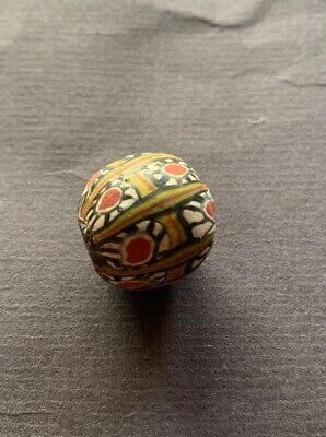 Alte Glasperle, ,Old Glass Bead Indonesien Java China Tibet Nepal Buddha 175