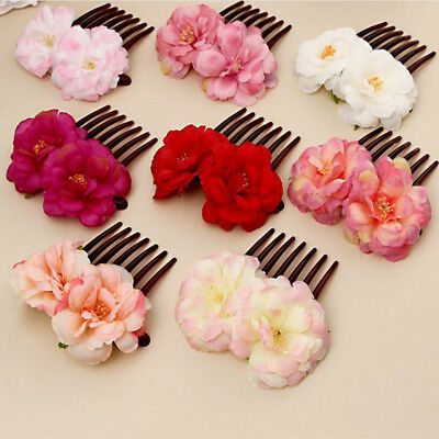 Beauty Hairstyle Wedding Florial Jewelry Hair Accessories Comb Hair Clip Decor