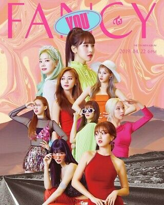 TWICE [FANCY YOU] 7th Mini Album RANDOM CD+F.Buch+Foto Karte+Sticker SEALED KPOP