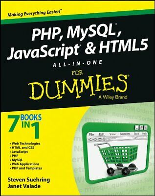 PHP, MySQL, JavaScript & HTML5 All-in-one For Dummies [Digital Edition]