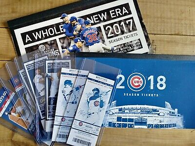 (2) Chicago Cubs Bleacher Tickets All June (16) Games Baez Bank Rizzo Bobblehead