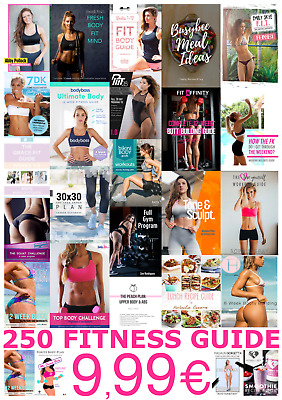 250 Fitness Guides Kayla Itsines Top Body Challenge Anna Victoria Yoga Bodyboss