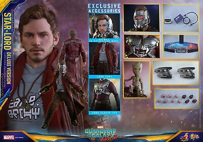 (FR) Hot Toys 1/6 Les Gardiens de la Galaxie Set MMS421 Star-Lord Deluxe