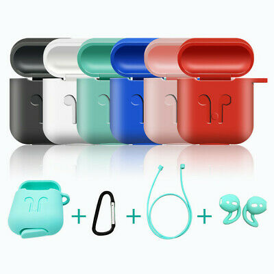 AirPod For Apple & Pod Silicone Case Strap Cover AirPods Accessories Air Holder