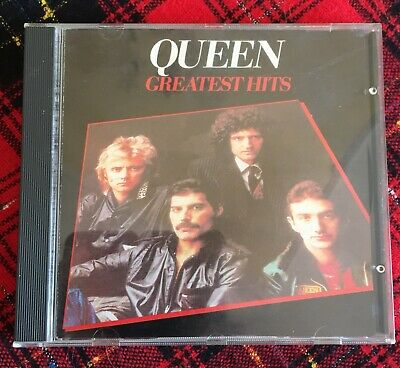 Queen Greatest Hits 1981 EMI Records CDP 7460332 Made in Italy Freddy Mercury