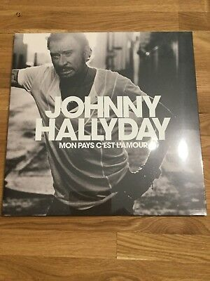 johnny hallyday Mon pays c'est l'amour 33 Tr Collector + L'album Hollywood