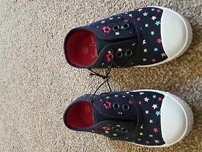 new Without Tag Bluezoo Girls trainers size infant 7