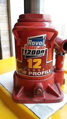 Beaver Roval 12 Ton Squat Bottle Jack BJS012