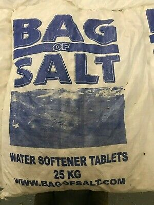 WATER SOFTENER SALT TABLETS 25KG BAGS from Stafford, Staffordshire.