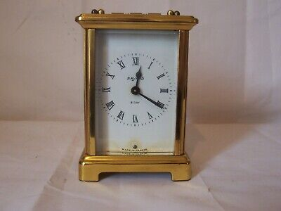 Lovely Duverdrey & Bloquel Of Paris Carriage Clock In Great Working Condition#2