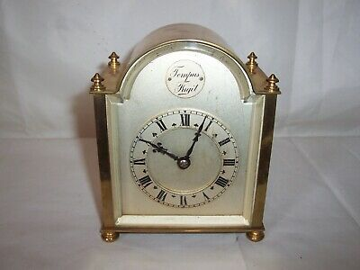 Unusual French Platform Escapement Carriage Clock In Great Working Condition.