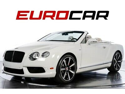 2014 Continental GT V8 S Convertible ONE OWNER VEHICLE!