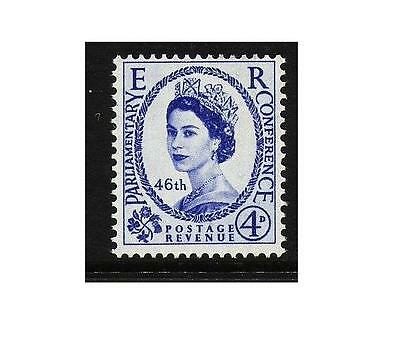 SG560 1957 4d 46th Inter-parliamentary Conference Unmounted Mint GB