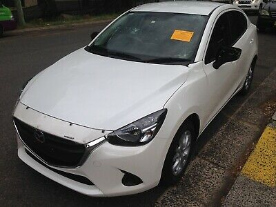 Mazda 2 Skyactive Sedan  2015 Model Auto Hail Damaged Stautory Write Off Salvage