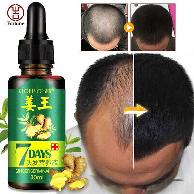 30ml ReGrow 7 Day Ginger Germinal Serum Essence Oil Loss Treatement Growth Hair