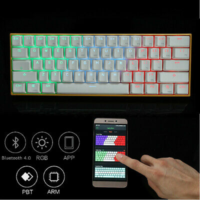 Anne PRO 2 bluetooth RGB Mechanical Gaming Keyboard USB Wired APP Control Light
