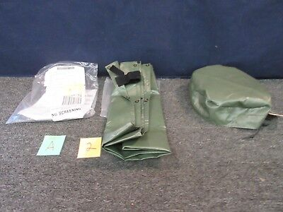 2 Military Surplus 8 Ton Ac Air Conditioner Cover Tarp Tamcn-B00107B Canvas New