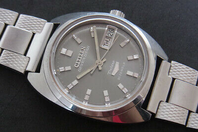 Nice & Rare Vintage Citizen Seven Star Deluxe Automatic 21 Jewels Watch